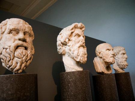 brenda kean: Greek Philosophers in London Museum