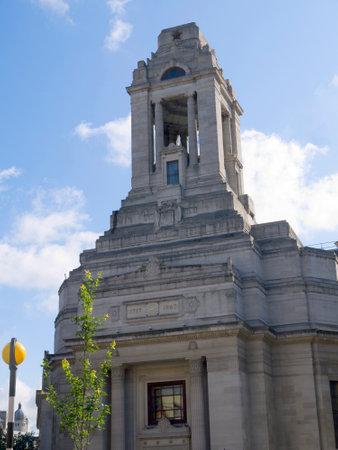 masonic: Masonic Temple in London England Editorial