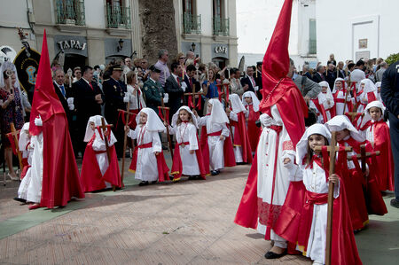 nerja: Easter Sunday Processions in Nerja Andalucia Spain
