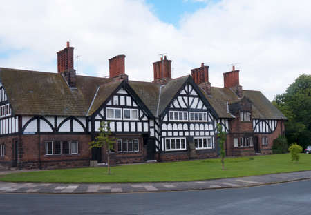 philanthropist: The model village of Port Sunlight, created by William Hesketh Lever for his Sunlight soap factory workers in 1888  Editorial