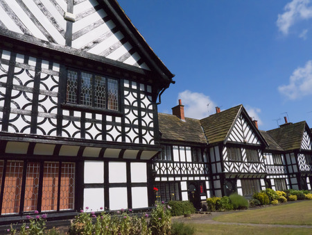 philanthropist: Homes at the model village of Port Sunlight, created by William Hesketh Lever for his Sunlight soap factory workers in 1888 Editorial