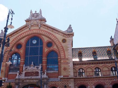 main market: Principale Market Hall a Budapest in Ungheria Editoriali