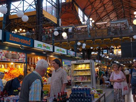 main market: Main Market Hall in Budapest Hungary Editorial
