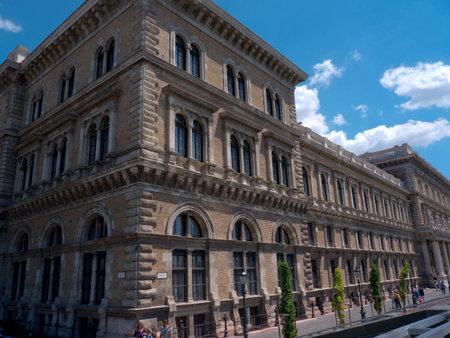 Beautiful Buildings in Budapest Hungary