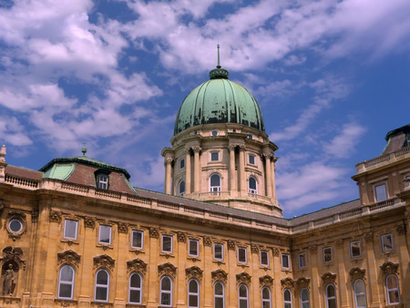 Royal Palace or Castle in Budapest Capital of Hungary