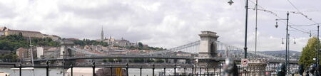 matthias: Panorama of River Danube from Pest side of the river in BUdapest