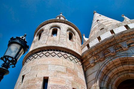 buda: P�cheurs Bastion sur Buda Castle Hill � Budapest Hongrie