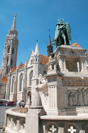 matthias: St Matthias Cathedral In Budapest Hungary