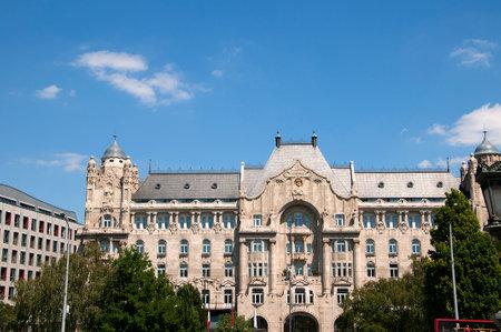 matthias: Gresham Building in Budapest Hungary