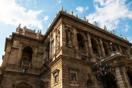 State Opera House in Budapest Hungary