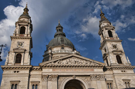 St Stephan Cathedral in Budapest Hungary