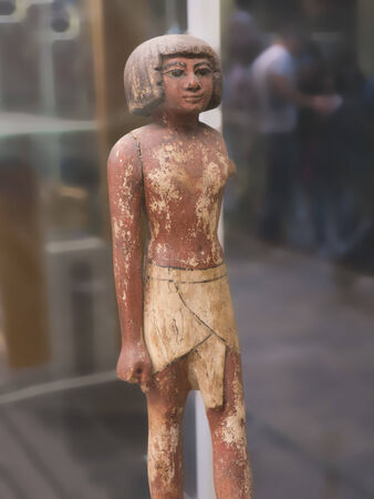 figure in the Egyptian Museum in Turin, the largest Egyptian collection outside Egypts Cairo Museum