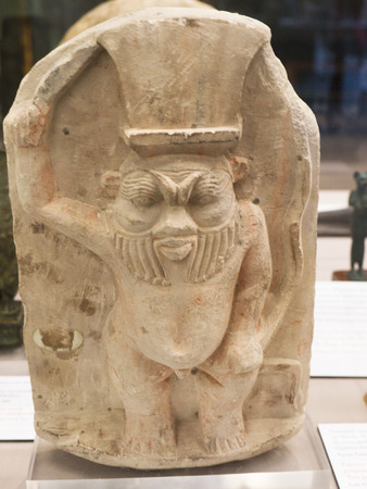The God Best in the Egyptian Museum in Turin, the largest Egyptian collection outside Egypts Cairo Museum