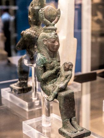 figuur in het Egyptisch Museum in Turijn, de grootste Egyptische collectie Egypts Cairo Museum