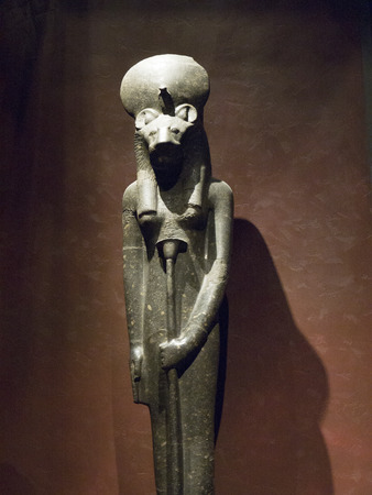 Goddess in the  Egyptian Museum in Turin, Italy
