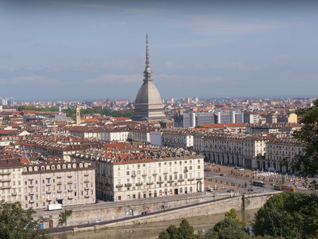 the iconic Mole Dome in Turin Italy