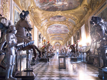 brenda kean: Armoury of the Royal Palace or Palazzo Reale in Turin Italy