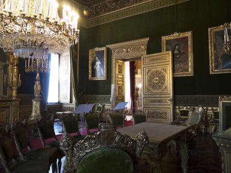 reale: Royal Palace or Palazzo Reale in Turin Italy
