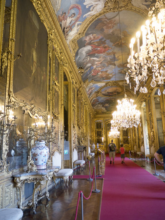 Royal Palace or Palazzo Reale in Turin Italy