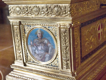 reale: Museum in the Royal Palace or Palazzo Reale in Turin Italy