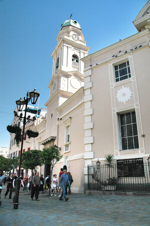 garrison: Cathedral of Gibraltar.Gibraltar is known colloquially as Gib or The Rock Editorial