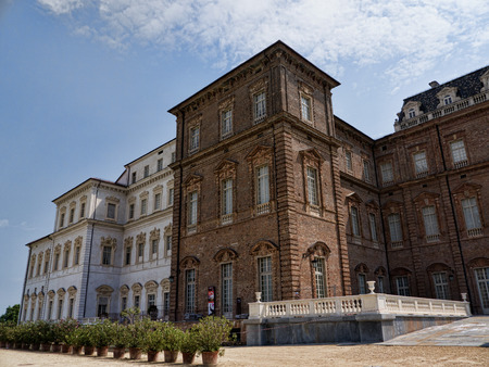reale: The Venaria Reale or the Reggia a royal hunting lodge on the outskirts  of Turin Italy