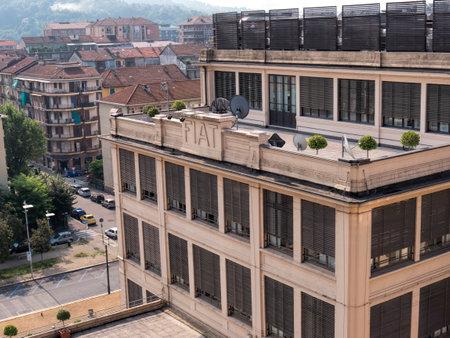 Fiat fabbrica frm il Rooftop Racetrack al Lingotto di Torino Italia