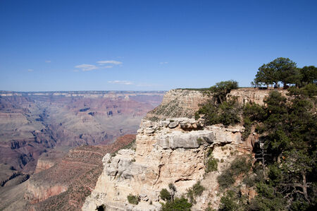 Grand Canyon View from the South Rim in Arizona USA photo