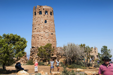 watchtower: Desert View Watchtower was built in 1932 and is one of Mary Jane Colter