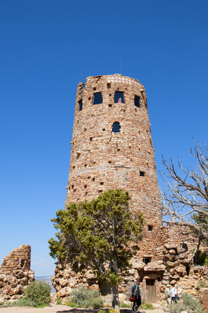 Desert View Watchtower was built in 1932 and is one of Mary Jane Colter