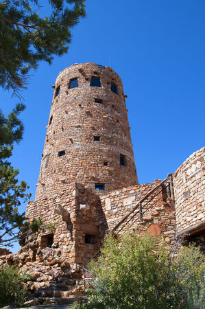 watchtower: Desert View Watchtower was built in 1932 and is one of Mary Jane Colter\\\\ Editorial