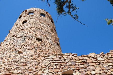 Desert View Watchtower was built in 1932 and is one of Mary Jane Colter\\\\