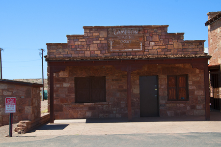 Cameron Trading Post Arizona USA 新聞圖片