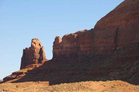 john wayne: Monument Valley on Navajo Tribal Land Arizona USA