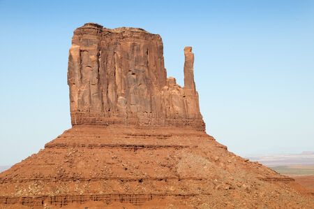 The Buttes of Monument Valley in Navajo Tribal Lands of Arizona and Utah USA photo