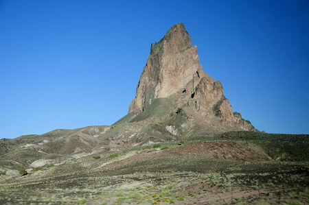 El Capitan on of the Buttes of Monument Valley in Navajo Tribal Lands of Arizona and Utah USA photo