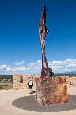 Mesa Verde Visitor Centre South Colorado USA
