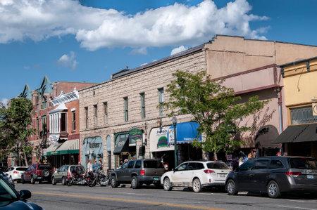 Main street of Durangoi Colorado USA