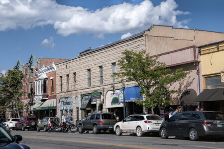 main street: Main street of Durangoi Colorado USA