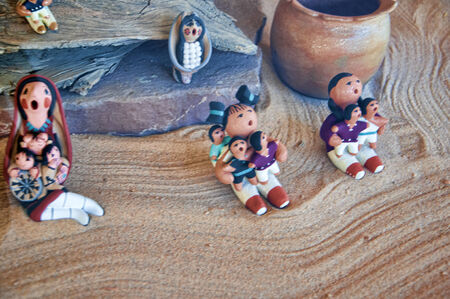 fe: The creative city of Santa Fe in New Mexico USA Editorial