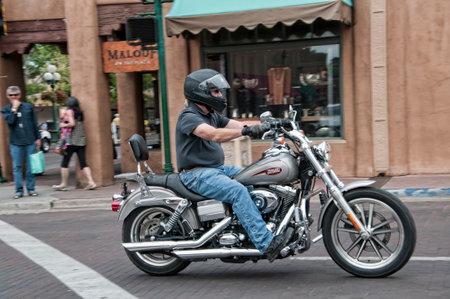 fe: Harley in Santa Fe New Mexico USA