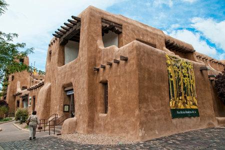 fe: The New Mexico Museum of Art in Santa Fe New Mexico USA