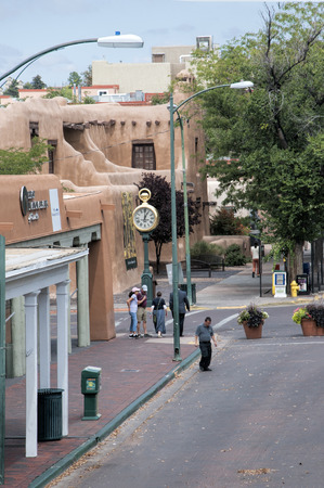pioneers: The Creative City of Santa Fe In New Mexico with its multitude of Galleries and Sculpture