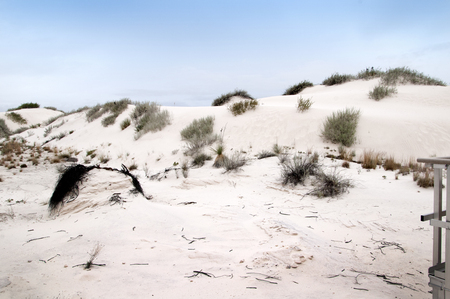 The Dunes of the White Sands National Monument in New Mexico USA