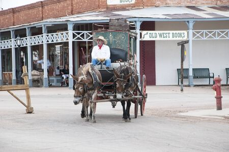 corral: Actor in Tombstone in Arizona where the Gunfight at the OK Corral was fought in the USA. It is called the Town too tough to die.