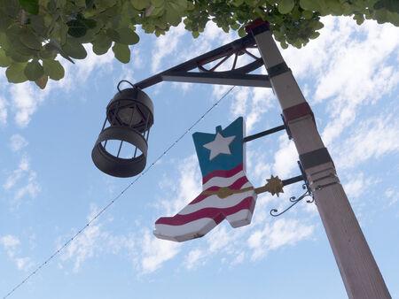 scottsdale: Street light in Scottsdale Arizona USA Stock Photo