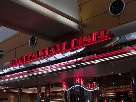 brenda kean: Retro Style Diner in New York USA
