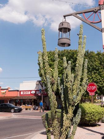 scottsdale: Old Town Scottsdale street in Arizona USA
