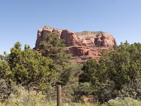 sedona: Red Rocks Park near Sedona Arizona USA Stock Photo