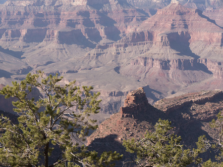 mesas: the Grand Canyon in Arizona USA one of the 7 wonders of the Natural World
